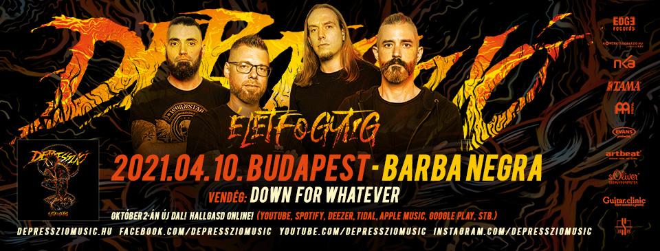 ELHALASZTVA - DEPRESSZIÓ - Budapest