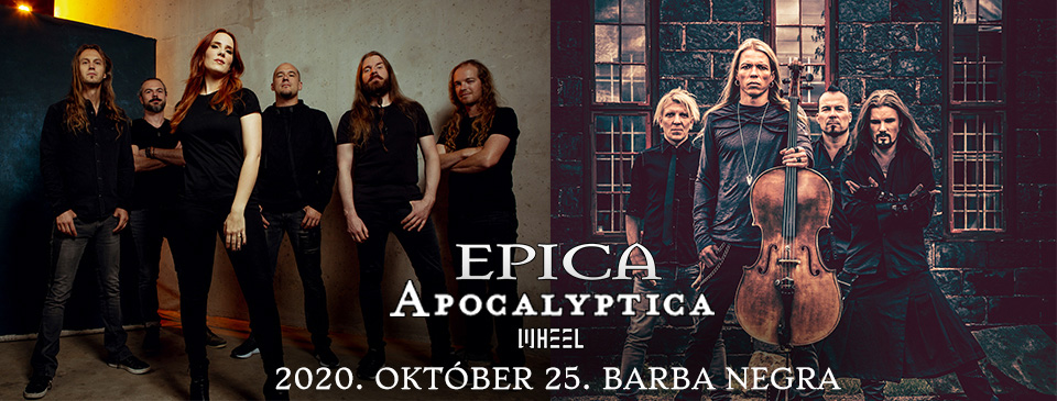 ELHALASZTVA - EPICA | APOCALYPTICA | Wheel - VIP Ticket
