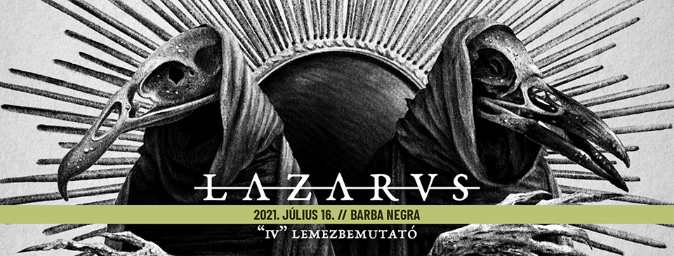 LAZARVS lemezbemutató