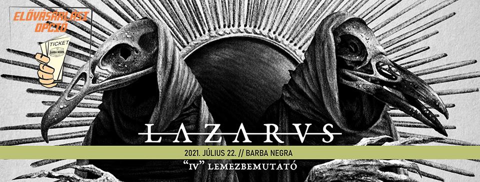 LAZARVS - Elővásárlási opció