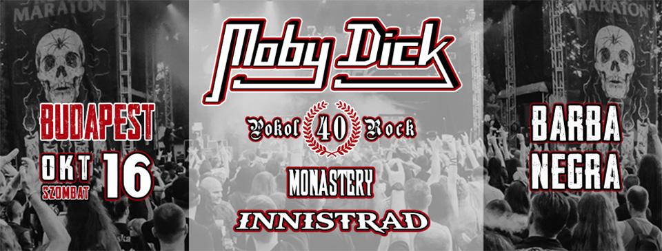 MOBY DICK 40 éve POKOLROCK