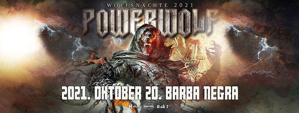 POWERWOLF - Wolfsnächte 2021 | Budapest