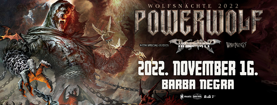 POWERWOLF - Wolfsnächte 2022 | Budapest