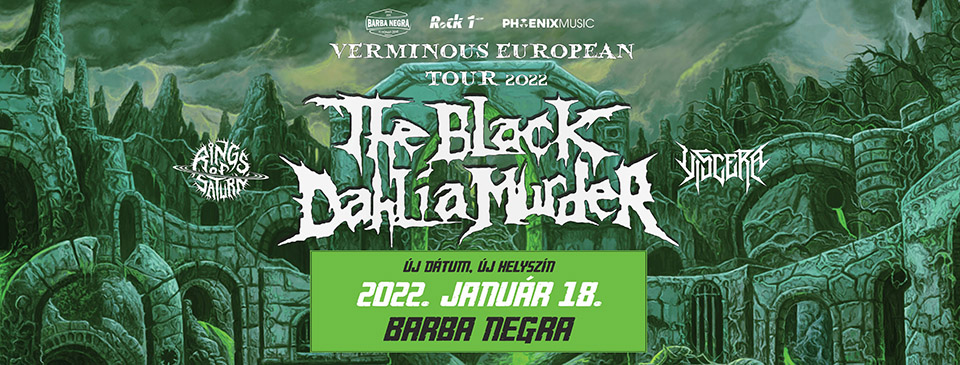 The Black Dahlia Murder | Rings of Saturn | Viscera